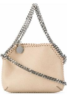 Stella Mccartney Tiny Falabella Shoulder Bag - Neutro