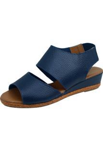 Sandália S2 Shoes Debora Azul Marinho - Kanui
