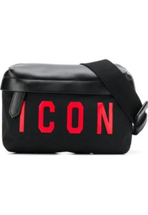 Dsquared2 Pochete Icon - Preto