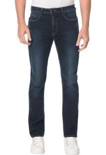 Calça Jeans Five Pocktes Straight Ckj 035 Straight - Marinho - 36
