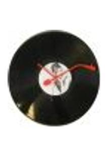 Relógio De Parede Audrey Hepburn Vinil 30X30 Cm