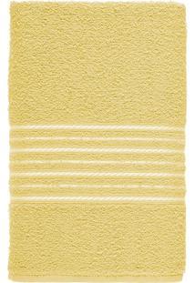 Toalha De Banho Felpuda 100% Algodão 65X120 Escala - Amarelo