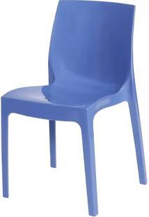 Cadeira Ice Polipropileno Azul