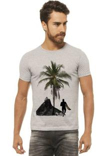 Camiseta Joss - Beach Surf - Masculina - Masculino-Mescla