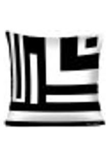 Capa Para Almofada Black And White - Baw6