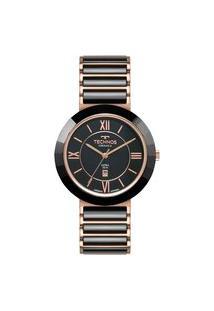 Relógio Feminino Technos 2015Bbv9P Analógico 50M Calendário | Technos | Preto | U