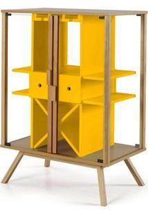 Cristaleira Mystic Cor Natural Com Amarelo - 28831