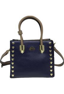 Bolsa Pequena Casual Importada Sys Fashion 8530 Azul