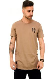 Camiseta Rich Young Long Marrom