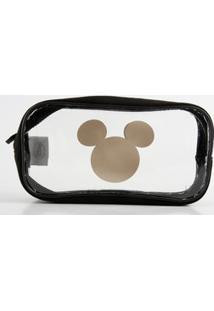 Necessaire Feminina Estampa Mickey Disney