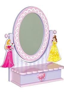 Penteadeira C/ Espelho De Mesa Princesas