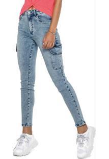 Calça Azul Skinny Vintage Jeans