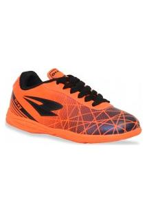 Tenis Dray Futsal Foorcy Iv Marinho Laranja