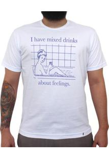 I Have Mixed Drinks - Camiseta Clássica Masculina