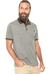 Camisa Polo Mr Kitsch Maga Curta Mouline Verde