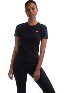 Camiseta Levis Perfect - 60036 Preto - Preto - Feminino - Dafiti