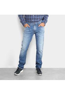 Calça Jeans Slim Colcci John Masculina - Masculino-Azul Claro