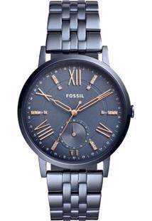 Relógio Fossil Feminino Gazer - Es4267/4Cn Es4267/4Cn - Feminino-Azul