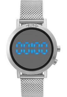 Relógio Euro Feminino Fashion Fit - Eubj3407Ab/3P Eubj3407Ab/3P - Feminino-Prata