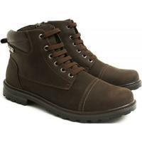 c5362a29f8 Coturno Couro Venetto Worker Adventure Conforto Brown - Masculino