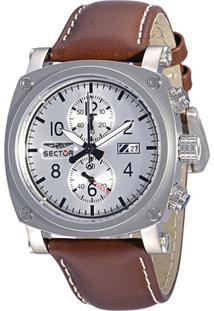 4bba081d046 ... Relógio Sector Ws20038S Marrom Escuro