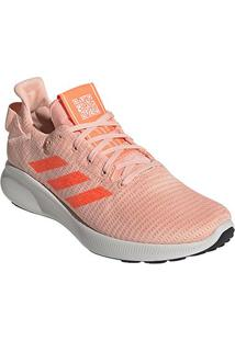Tênis Adidas Sense Bounce Street Feminino - Feminino-Salmão+Branco
