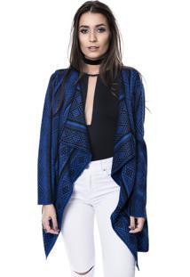 Kimono Myah Carol Azul Bic