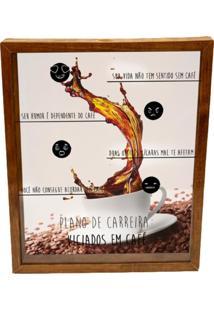 Quadro Porta Grã£Os VãCio Prolab Gift Tabaco - Amarelo/Branco/Marrom/Preto - Dafiti