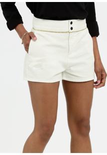 Short Feminino Jeans Lurex Marisa