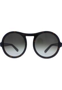 Óculos De Sol Feminino Chloé Ce715S 219 57 Marrom Mesclado