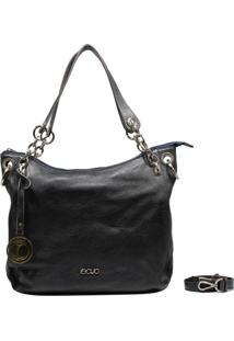 Bolsa Recuo Fashion Bag Sacola Stonado Navy