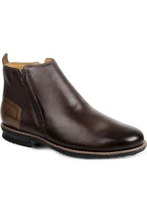 Bota Dress Boot Masculina Sandro Moscoloni Floater Good Marrom