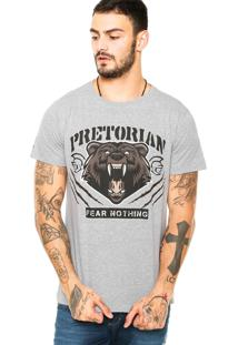 Camiseta Pretorian Fear Nothing Cinza