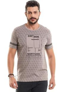 Camiseta East Side Bege Bgo