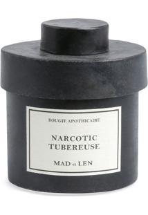 Mad Et Len Vela Narcotic Tubereuse Bougie D'Apothicaire - Preto