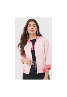 Jaqueta Bomber My Favorite Thing(S) Neon Rosa