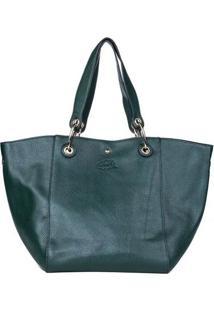 Bolsa Oumai De Mão Premium Verde Escuro