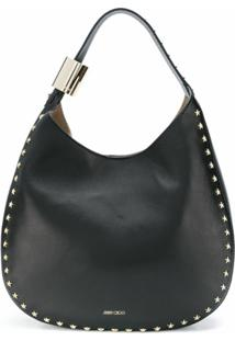 Jimmy Choo Bolsa Tiracolo Stevie - Black