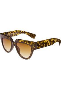 Óculos Ray Flector Montague Ungerground Vgt563 Co - Feminino-Onça