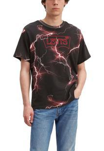 Camiseta Levis Logo Batwing Stranger Things - L