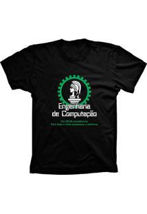Camiseta Lu Geek Plus Size Engenharia De Preto