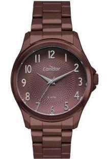 Relógio Condor O Poder Da Co2036Mug/4M Feminino - Feminino-Marrom