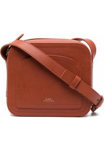 A.P.C. Louisette Crossobody Bag - Laranja