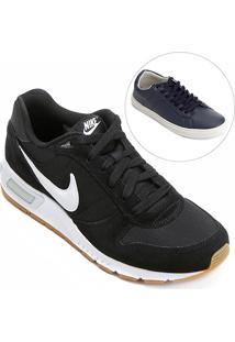 Kit Tênis Nike Nightgazer+ Sapatênis Burn Bray Masculino - Masculino
