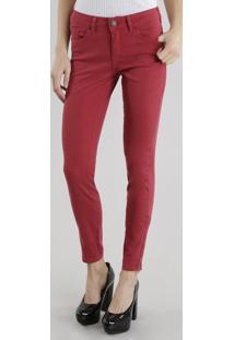 Calça Super Skinny Vermelha
