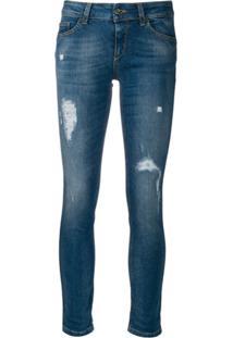 Liu Jo Calça Jeans Skinny Cintura Média - Azul