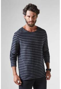 Camiseta Reserva Ml Dupla Face Ft Rustico - Masculino-Preto