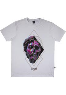 Camiseta Alkary Caveira Grega Branca