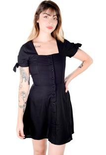 Vestido Boneca Preto (, M)