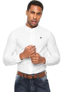 Camisa Timberland Slim Fit Branca